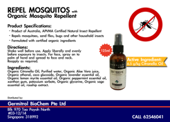 Mosquito Repellent Brochure